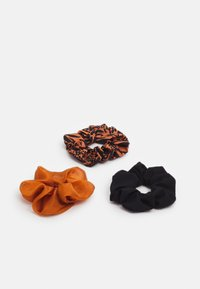 Even&Odd - 3 PACK - Hair Styling Accessory - camel/black - 0