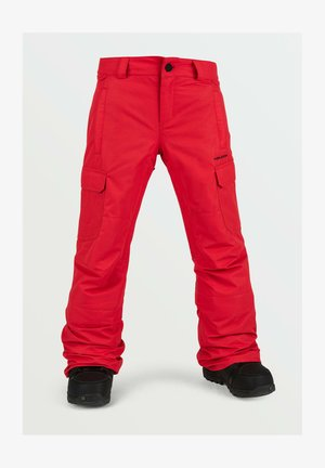 Snow pants - red
