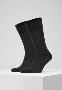 FALKE - HAPPY 2-PACK - Socks - grey - 1