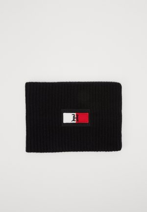 FLAG NECK WARMER - Tubhalsduk - black