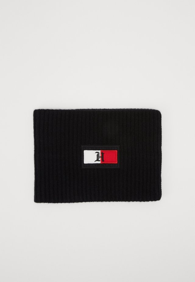 FLAG NECK WARMER - Snood - black