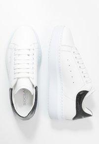Noclaim - GALA - Sneakers laag - bianco/glass nero - 3