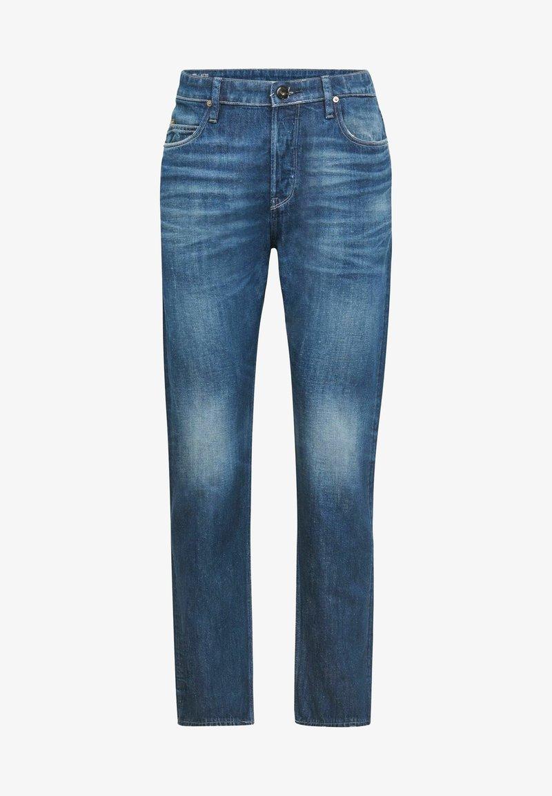 G-Star - TRIPLE A STRAIGHT C - Straight leg jeans - melfort denim o - faded crystal lake