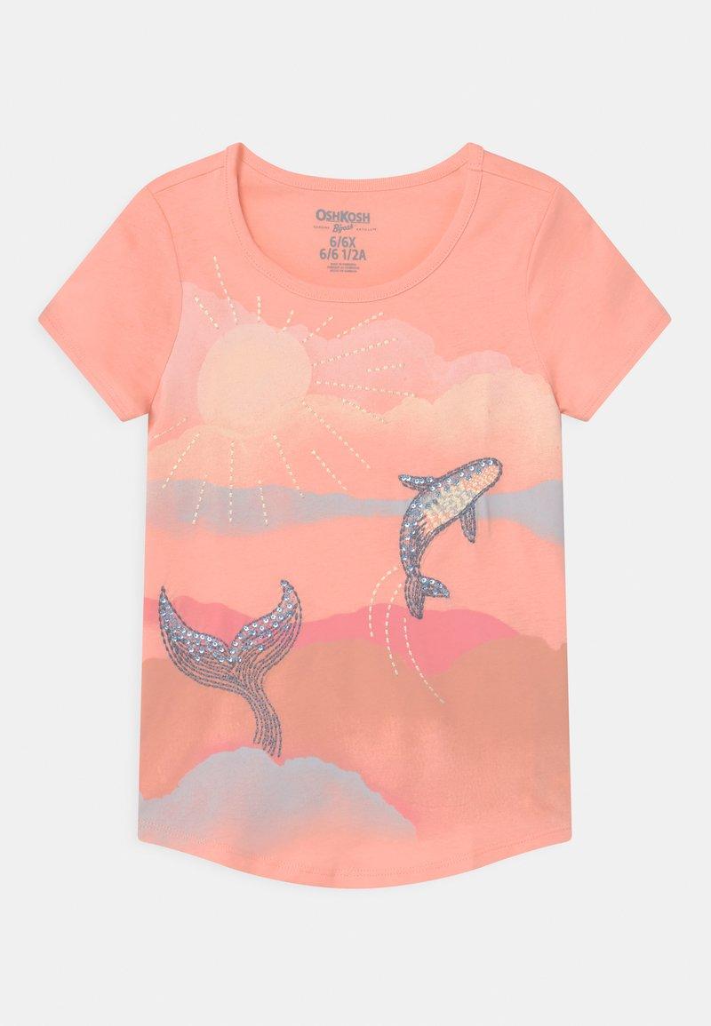 OshKosh - TIER GRAPHIC - Print T-shirt - pink