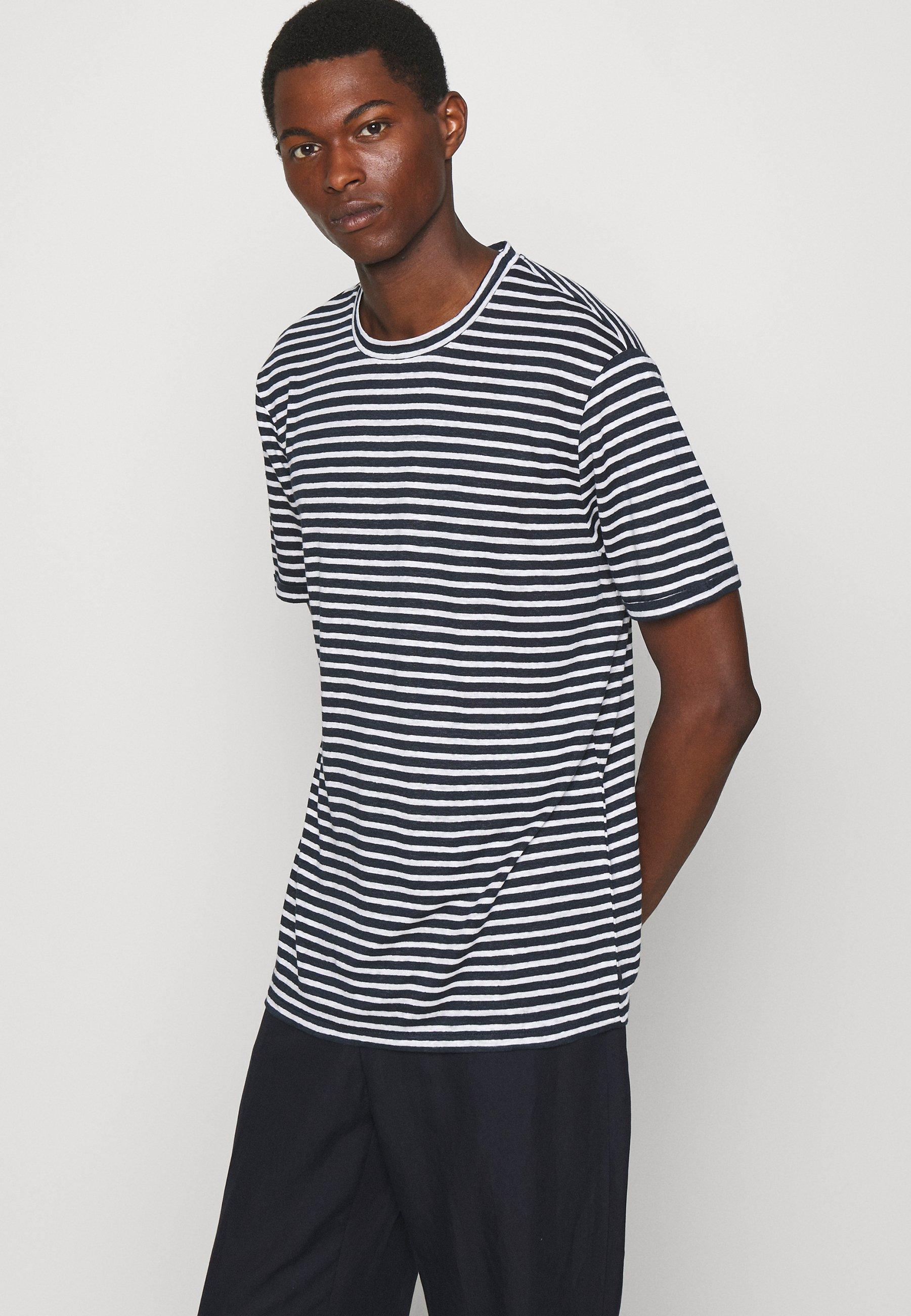 Men COMA STRIPE - Print T-shirt