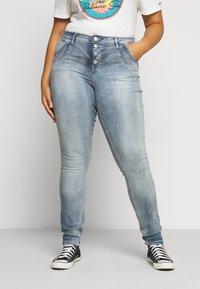 ZAY - LONG - Jeans Skinny - light blue denim - 0