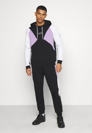 SET UNISEX - Zip-up hoodie - black