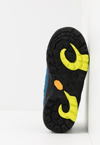 TrollKids - KIDS LOFOTEN MID - Hiking shoes - blue/lime - 5