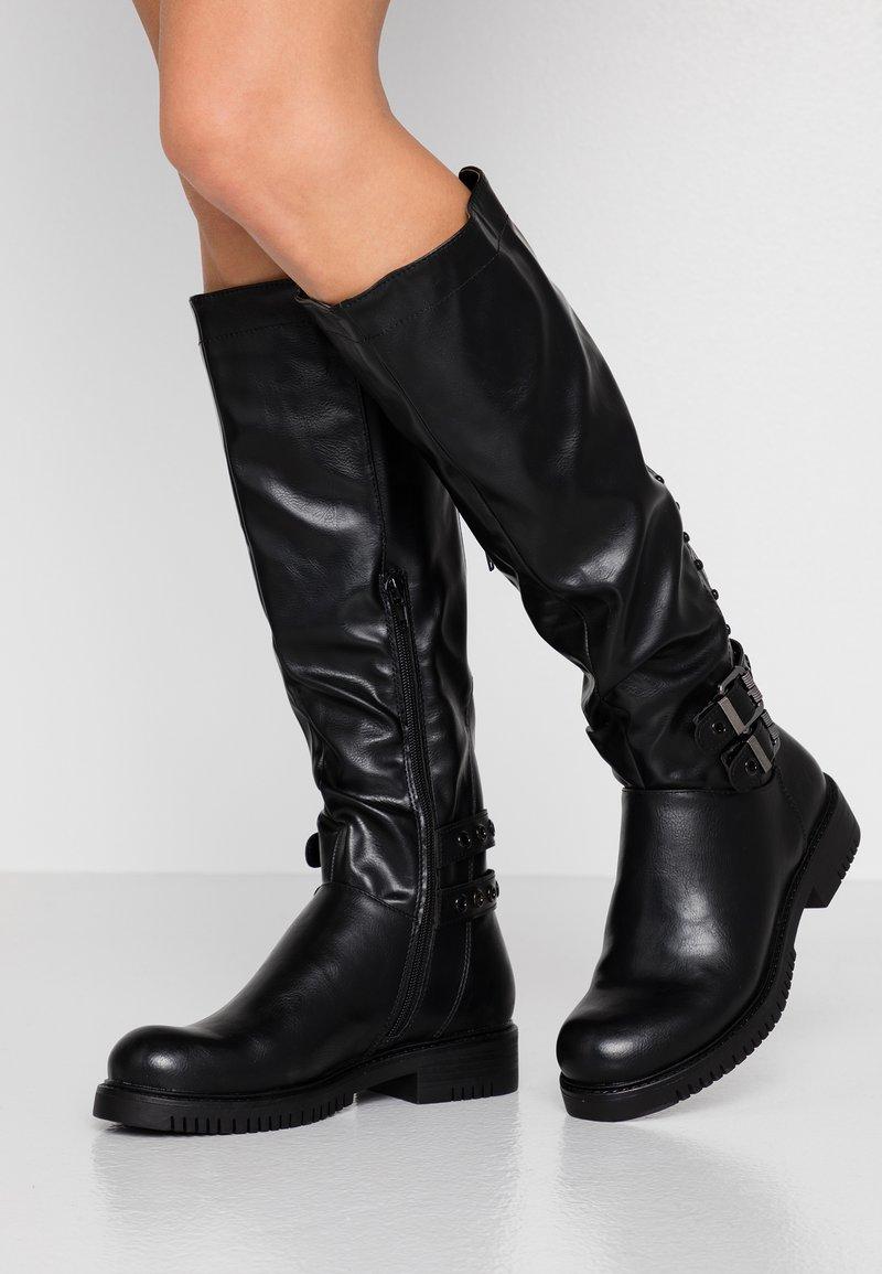Anna Field - Cowboy/Biker boots - black