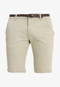 Lindbergh - CLASSIC  BELT - Shorts - sand - 4