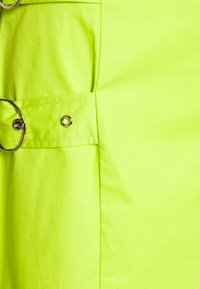 The Ragged Priest - SKIRT SIDE BUCKLES - Mini skirt - lime - 2