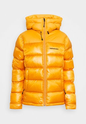 FROST GLACIER HOOD - Down jacket - blaze tundra