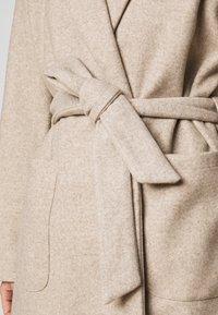 ONLY Petite - ONLTRILLION LONG BELT COATIGAN  - Classic coat - humus - 5
