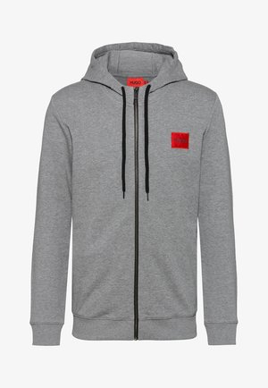DAPLE - Huvtröja med dragkedja - medium grey