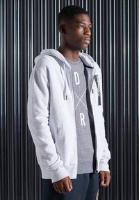 Superdry - CORE LOGO TRANSIT - Zip-up hoodie - ice marl - 1