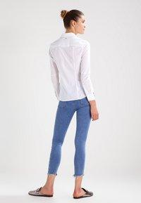 G-Star - CORE SLIM - Button-down blouse - white - 2