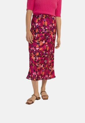 EDELYNE - Maxi skirt - pink
