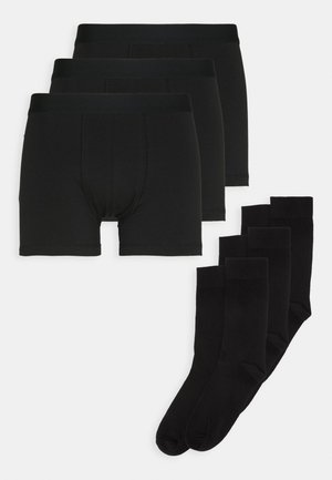 3 PACK - WEEKEND GETAWAY - Boxershorts - black