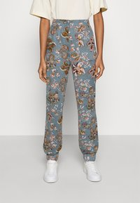 ONLY - ONLELCOS EMMA LONG PANT - Tracksuit bottoms - balsam green - 0