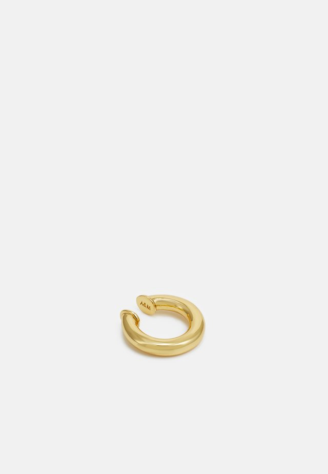 VINTAGE COLLECTION CHUNKY EAR CUFF - Øreringe - gold-coloured