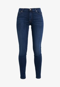 7 for all mankind - ILLUSION LUXE LOVESTORY - Jeans Skinny Fit - mid blue - 4