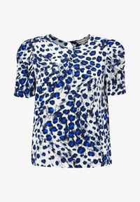 Whistles - BRUSHED LEOPARD SHELL - Blouse - white/multi - 4