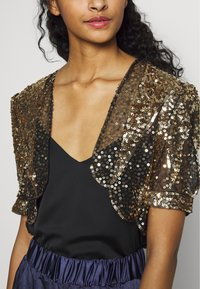 Molly Bracken - LADIES BOLERO - Blazere - gold - 5