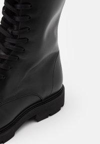 Filippa K - KRISHA LACED BOOT - Lace-up boots - black - 4