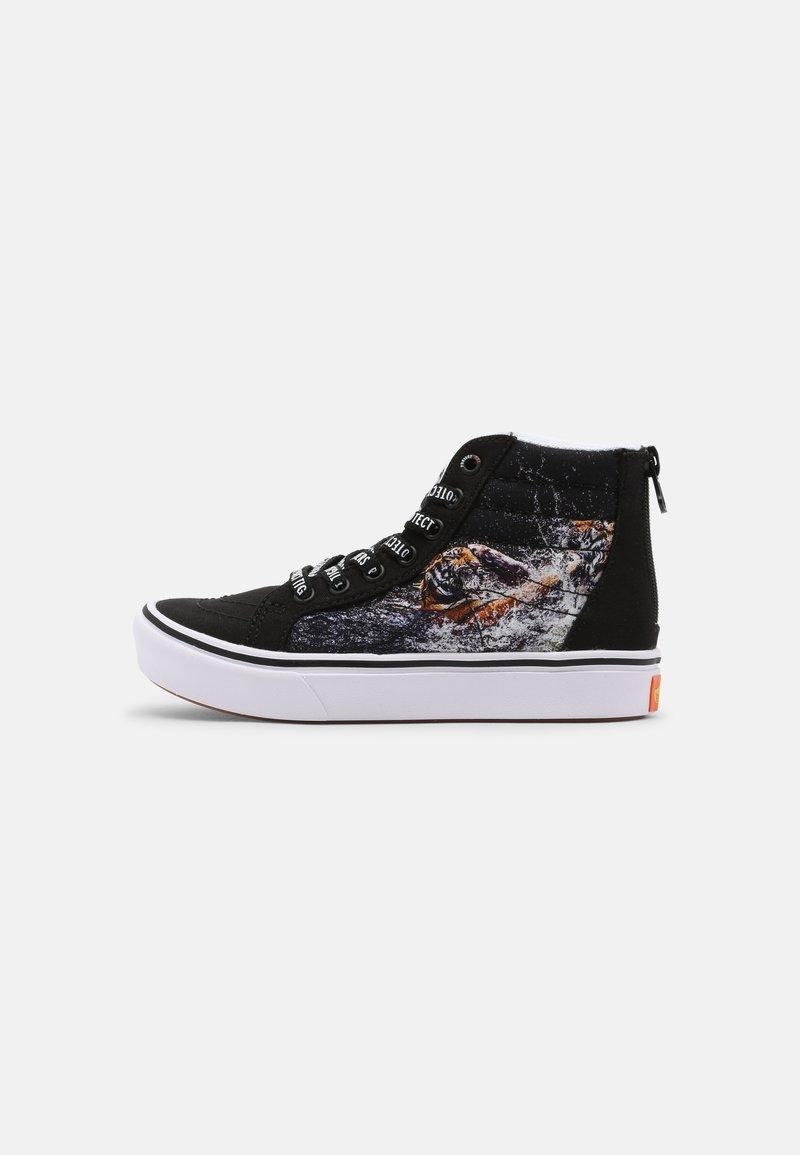 Vans - UY COMFYCUSH SK8-HI ZIP - Sneakers hoog - black