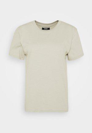 Botanical dyed top - T-shirt basic - olive