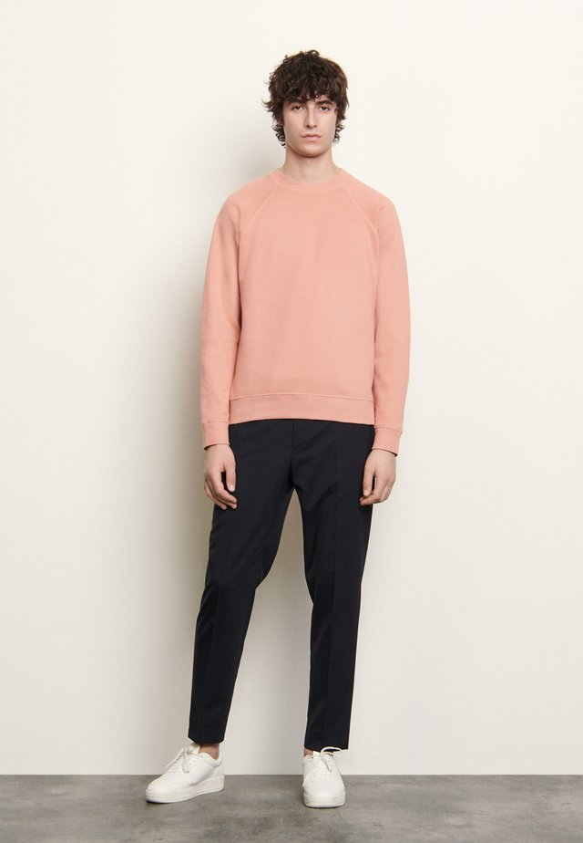 CREW NECK PASTEL - Sweatshirt - rose