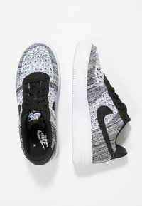 Nike Sportswear - AIR FORCE  - Sports shoes - black/pure platinum/white - 0