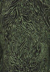 ONLY - ONLAMINA - Long sleeved top - balsam green/black - 2