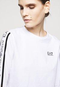 EA7 Emporio Armani - Long sleeved top - white - 3