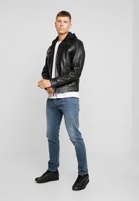 Serge Pariente - NILS  - Leather jacket - black - 1