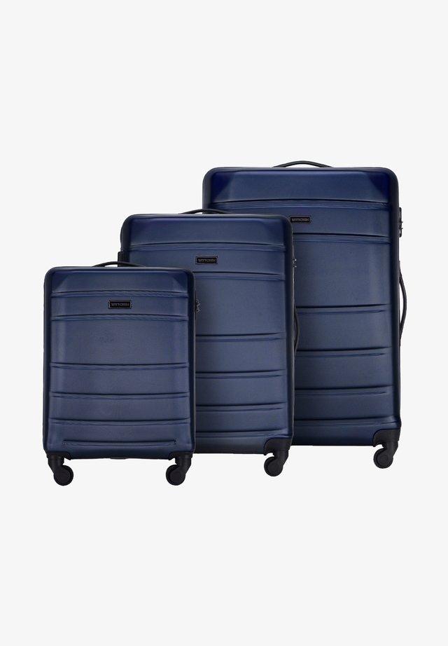 SET - Trolley - dunkelblau