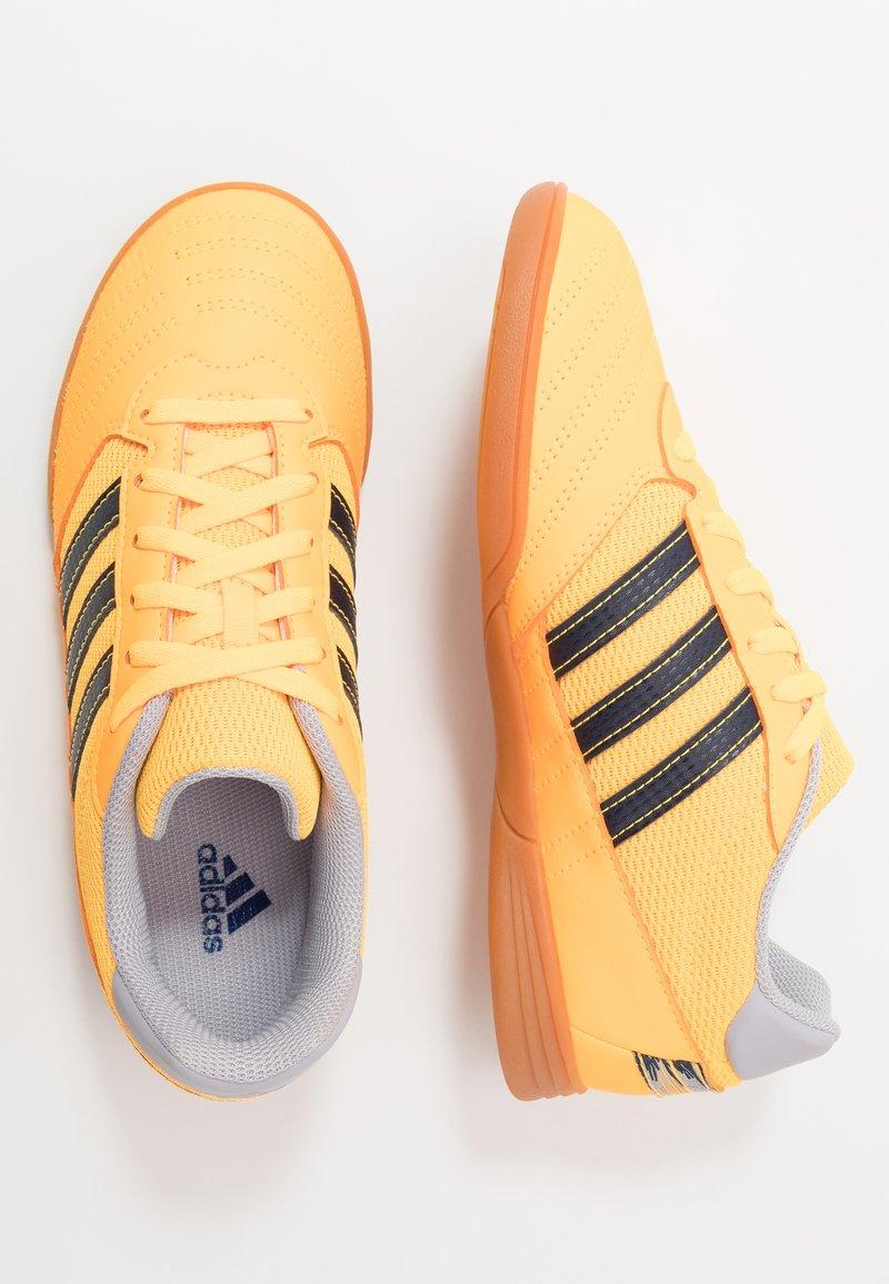 adidas Performance - SUPER SALA - Indoor football boots - solar gold/collegiate navy/glow grey