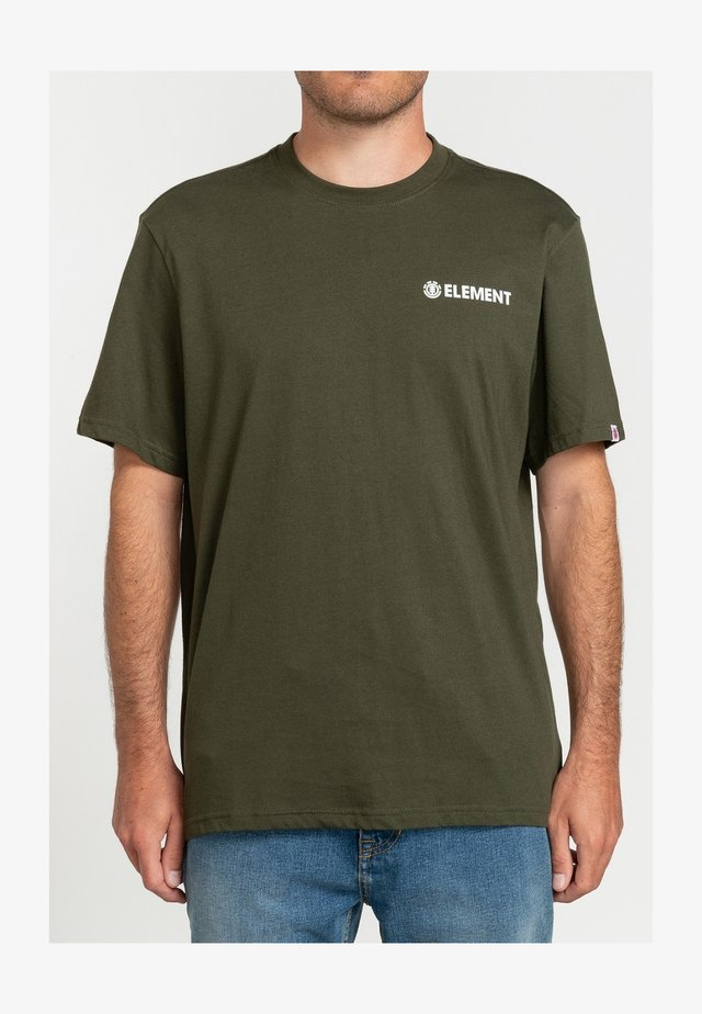 JOINT - T-shirt print - forest night