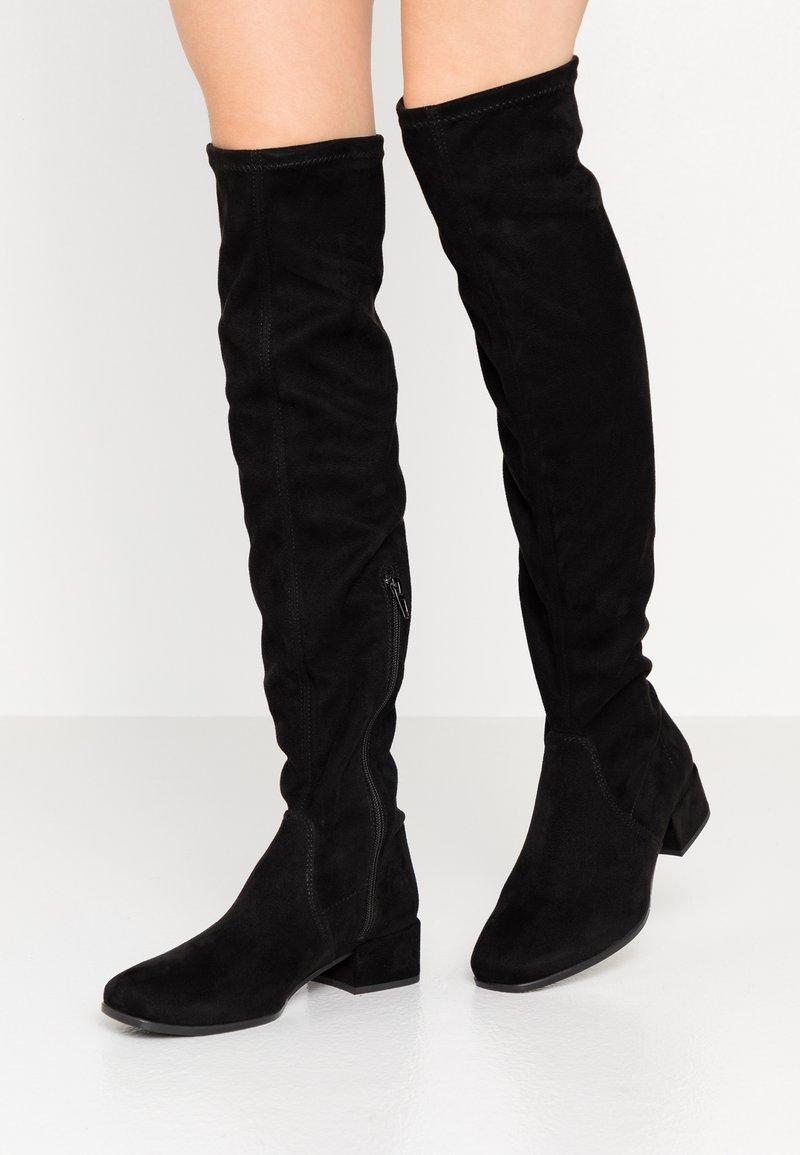 Tamaris - BOOTS - Høye støvler - black
