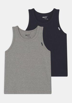 JAYDEN 2 PACK - Camiseta interior - navy/grey