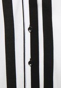 YAS - YASSAVANNA LONG DRESS - Maksimekko - black/ white stripes - 6