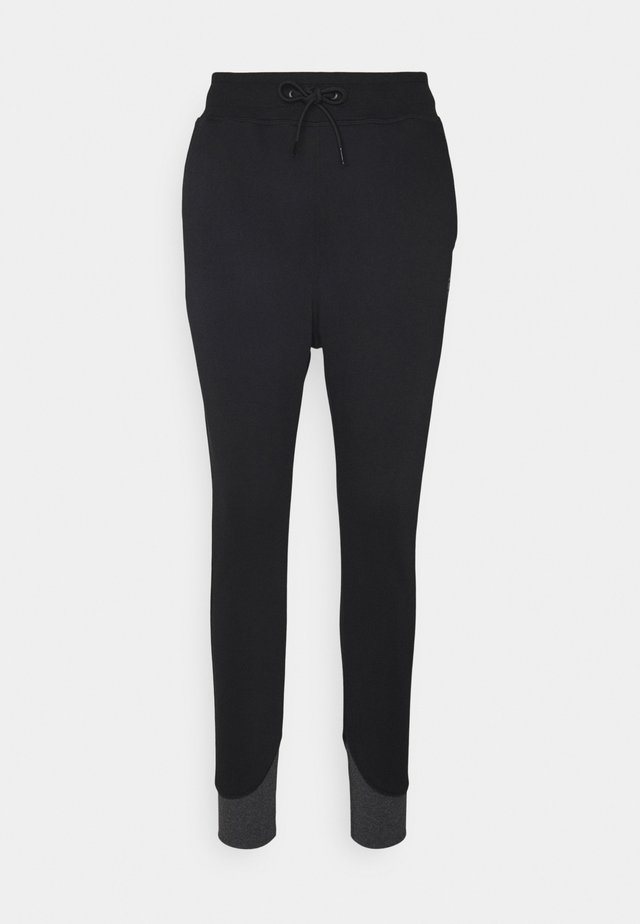 PREMIUM CORE TAPERED PANT - Tracksuit bottoms - black