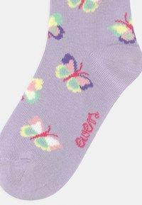 Ewers - BUTTERFLIES 2 PACK - Socks - flieder/white - 2