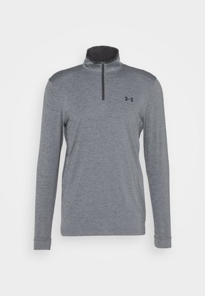 PLAYOFF 1/4 ZIP - Funktionstrøjer - pitch gray