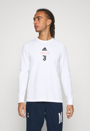 JUVENTUS SPORTS FOOTBALL LONG SLEEVE - Klubové oblečení - white/black