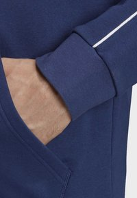adidas Performance - CORE 19 HOODIE - veste en sweat zippée - blue - 5