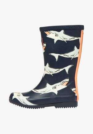 JNR ROLL UP - Wellies - französisch marineblau