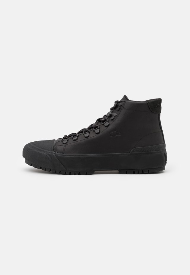 GRIPSHOT  - Lace-up ankle boots - black