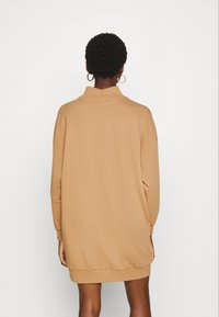 ONLY - ONLVINA HIGHNECK DRESS - Day dress - burro - 3