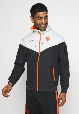 NIEDERLANDE KNVB - National team wear - black/sail